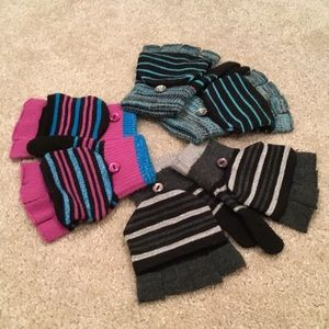 Fingerless Gloves/Mittens (Bundle of 3)